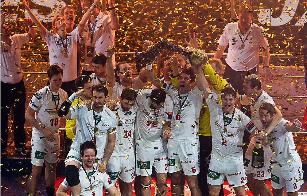 Handball Champions League Trophäe 2013