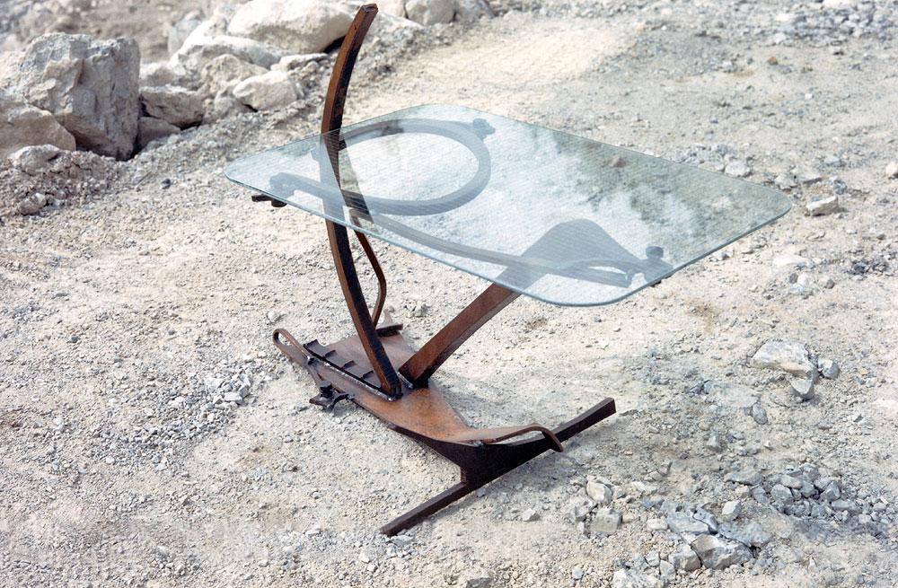 geschwei te m belst cke vom metall k nstler kaufen gahr. Black Bedroom Furniture Sets. Home Design Ideas