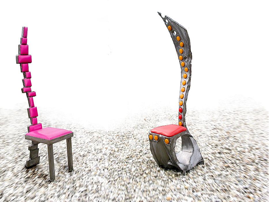 Geschweißte Möbelstücke vom MetallKünstler kaufen  GAHR