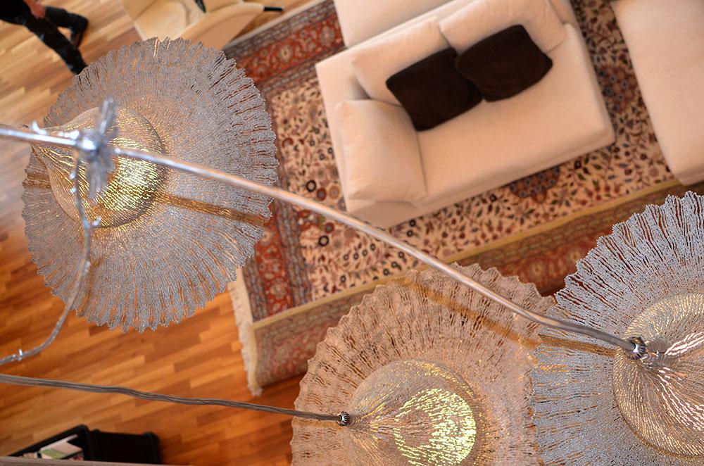 extravagante h ngeleuchte moderner luster individuelle. Black Bedroom Furniture Sets. Home Design Ideas