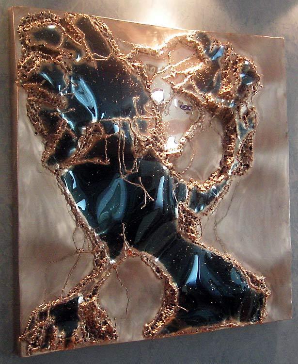 metallkunst kunst metall gahr. Black Bedroom Furniture Sets. Home Design Ideas