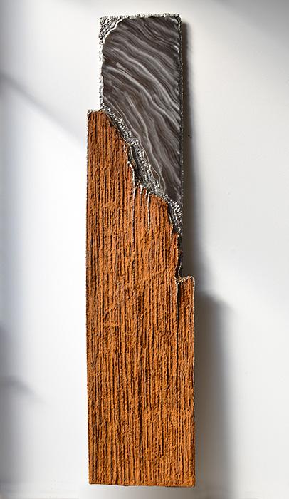 Wandbilder direkt vom metall k nstler kaufen gahr for Gartenskulpturen rost