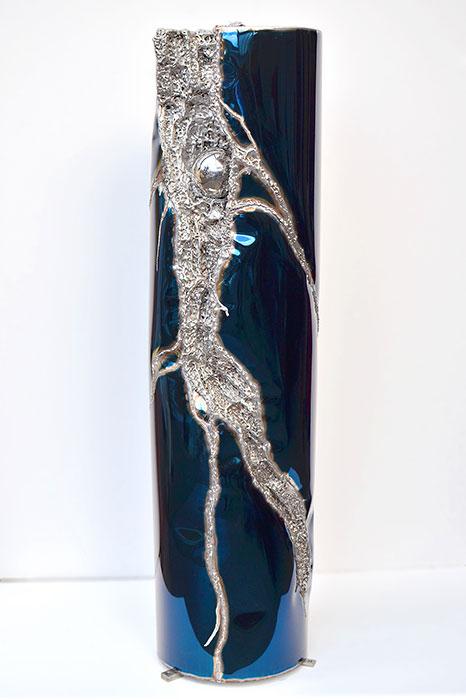 Geschwei te metall skulptur f r garten oder innenraum gahr - Skulptur metall garten ...
