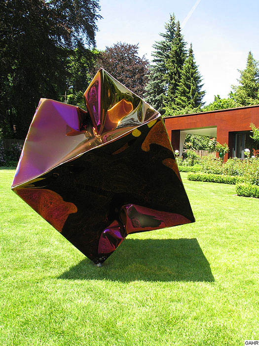 Metallskulpturen F 252 R Den Garten Gahr