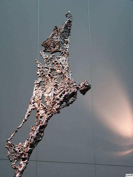 Figurative Sculpture - Welded Metal Sculpture