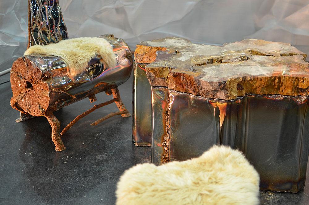 Furniture Art Welded Metal Art Gahr