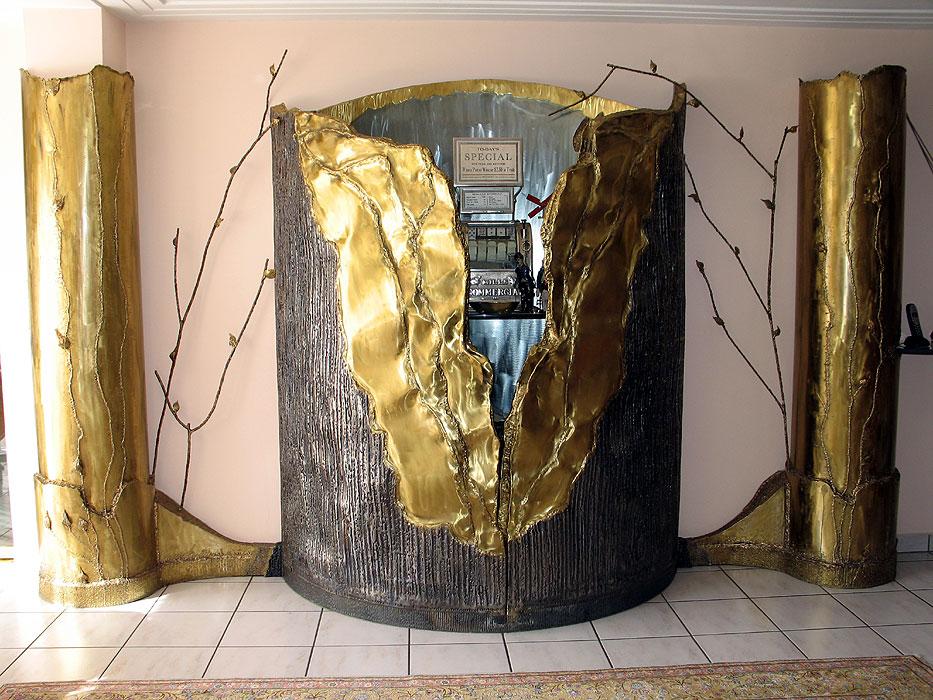 Metal Art Furniture Applied Art Gahr