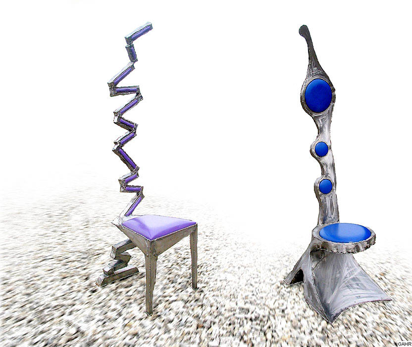 Art Furnitures Welded Carbinets Furniture Sculptures Gahr