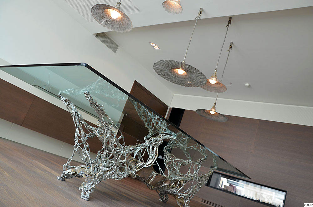 Metal Art - Unique Dining Table Design - Exclusive Dining Lamps ...