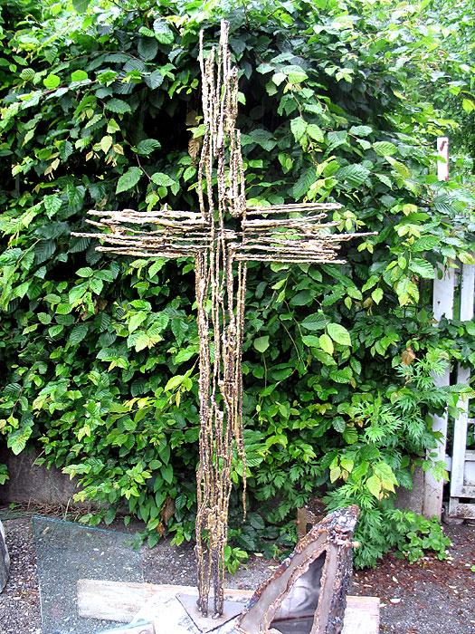 Artistic Grave Monuments Welded Art Crosses Gahr