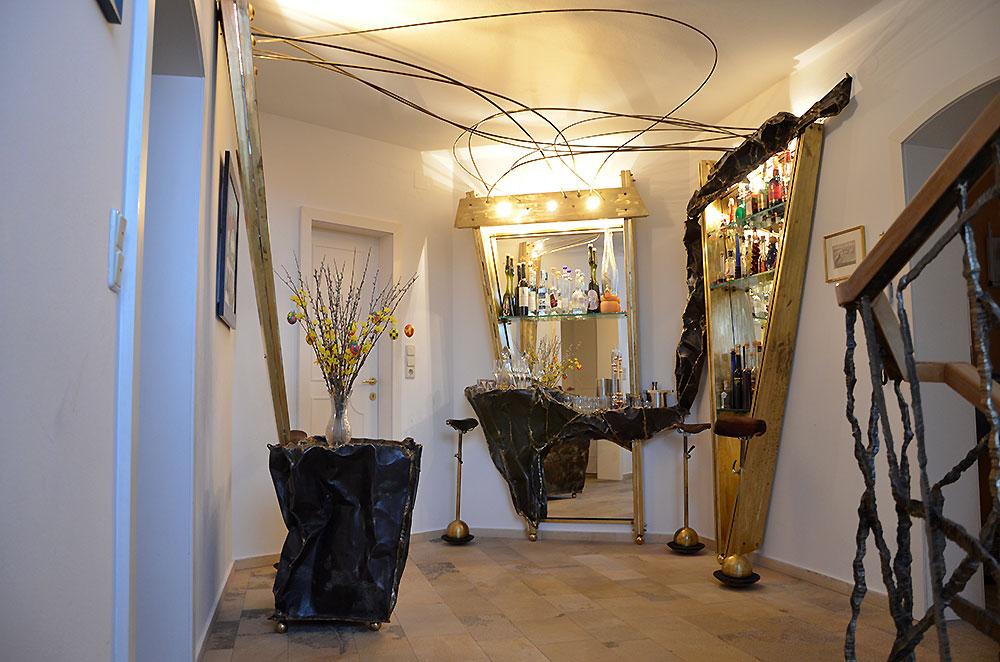 artistic interior design metal art design gahr