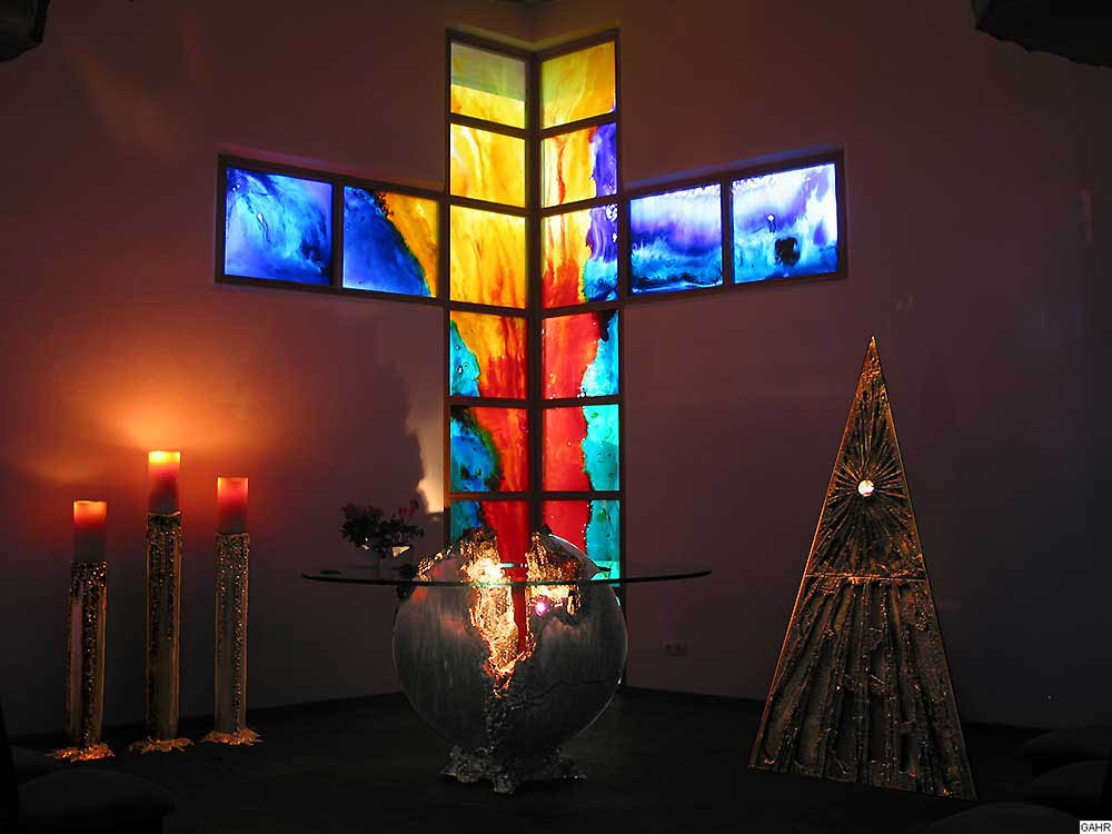 GAHR | Contemporary Chapel Design