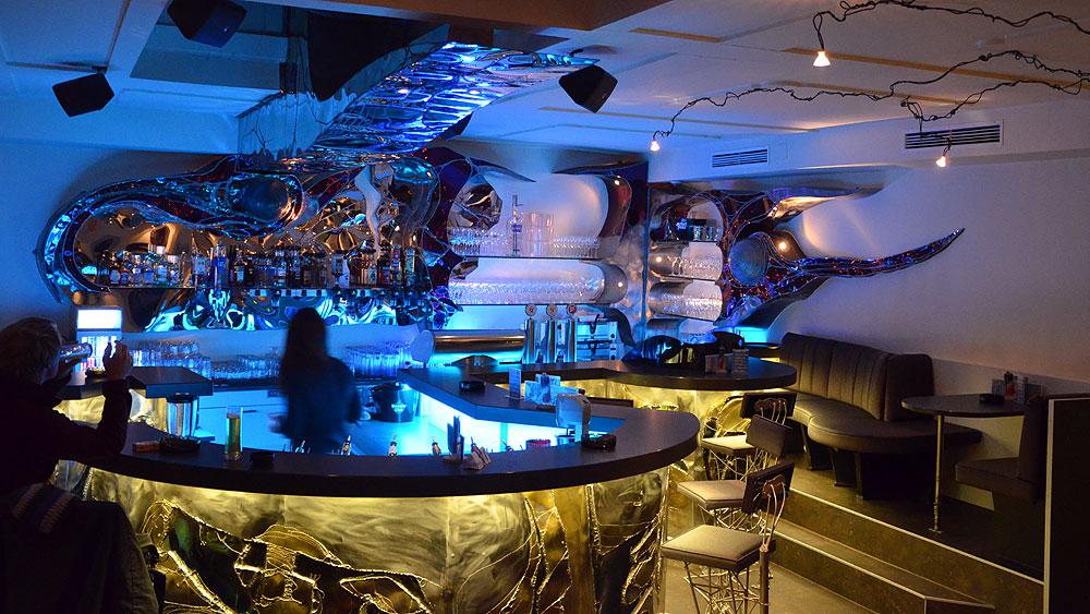 GAHR   Nightclub Design   Applied Metal Art