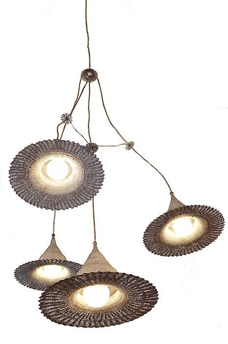 Artistic Ceiling Light Metal Pendant Light Gahr