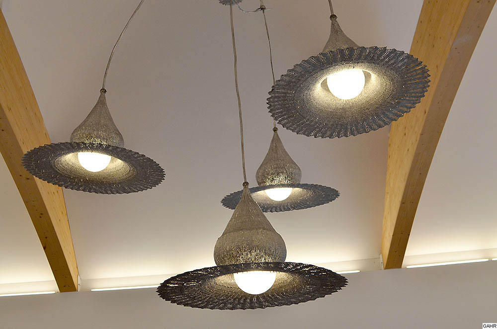 Artistic Light Fixtures artistic ceiling light - metal pendant light - modern luster