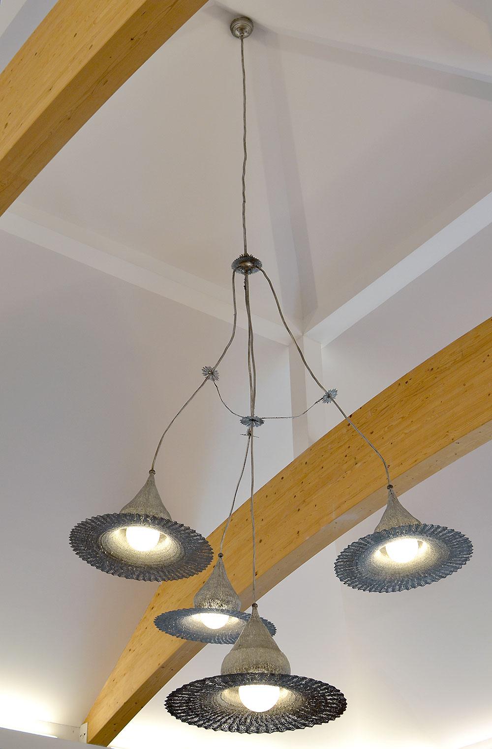 Artistic ceiling light metal pendant light modern for Artistic pendant lights