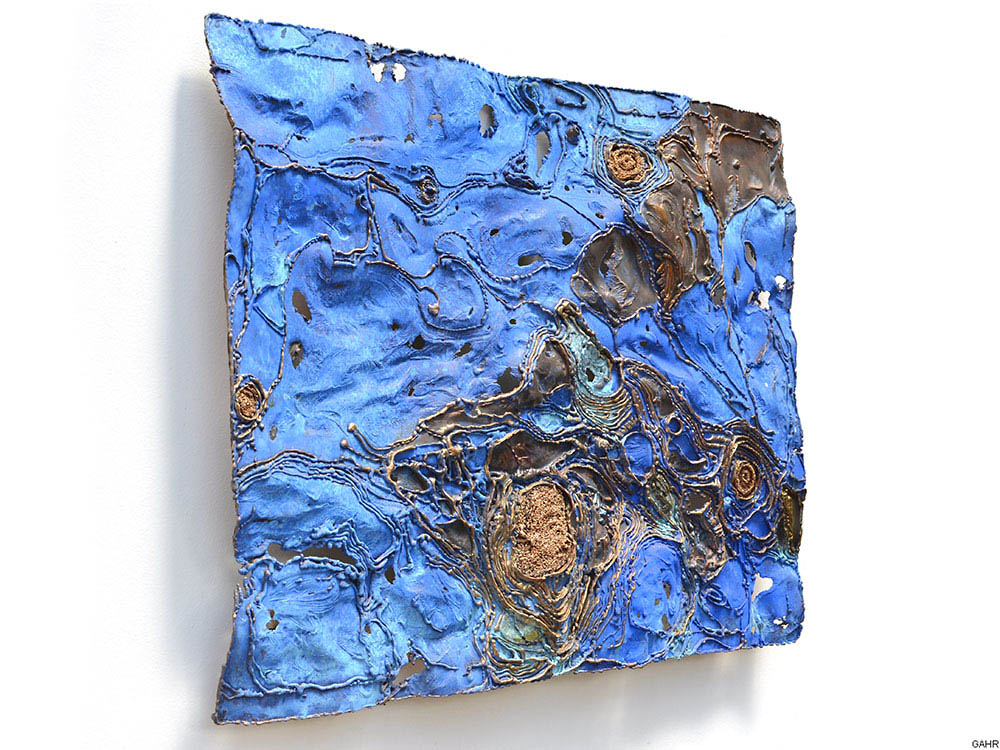 Abstract Metal Painting