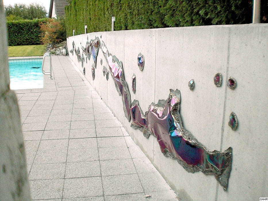 Artistic Wall Decoration - Stainless Steel