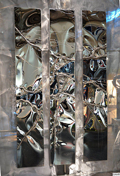 Stainless Steel Metal Artwork Wall Art Sculpture Gahr