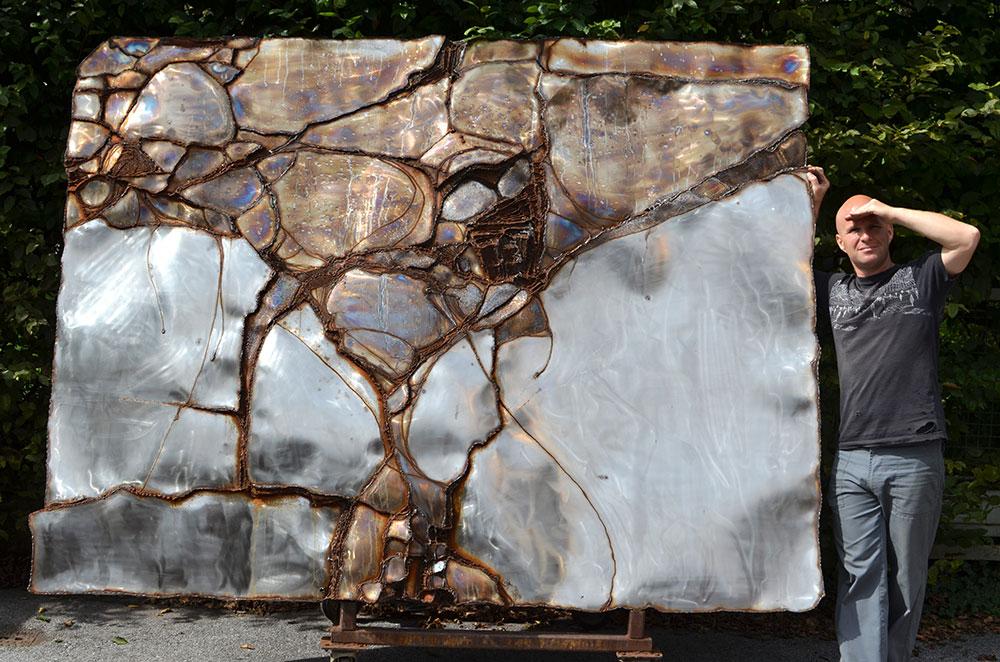 Wall Sculpture For Living Room   Metal Artwork For Sale. U0027 Part 54