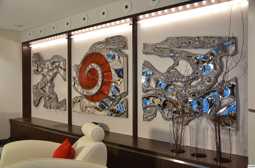 Metal Wall Art - Wall Sculptures in Stainless Steel