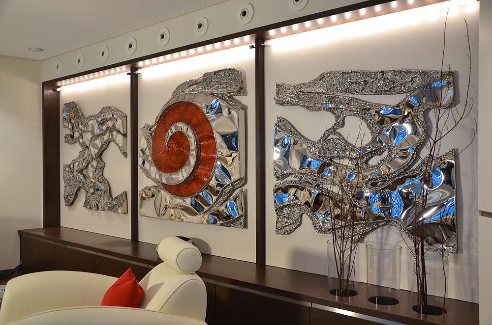 Metal Wall Art Modern Wall Sculptures Gahr