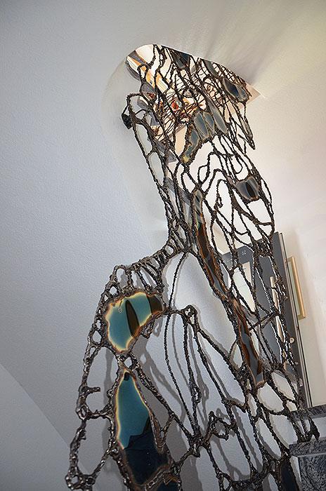 Artistic Metal Creation Railing Sculpture Gahr