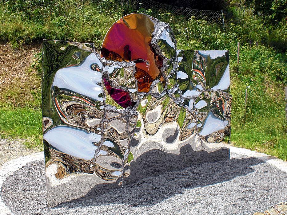 Garden sculpture metal art and design gahr for Welded garden art designs