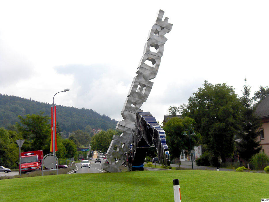 Very Big Roundabout Sculpture