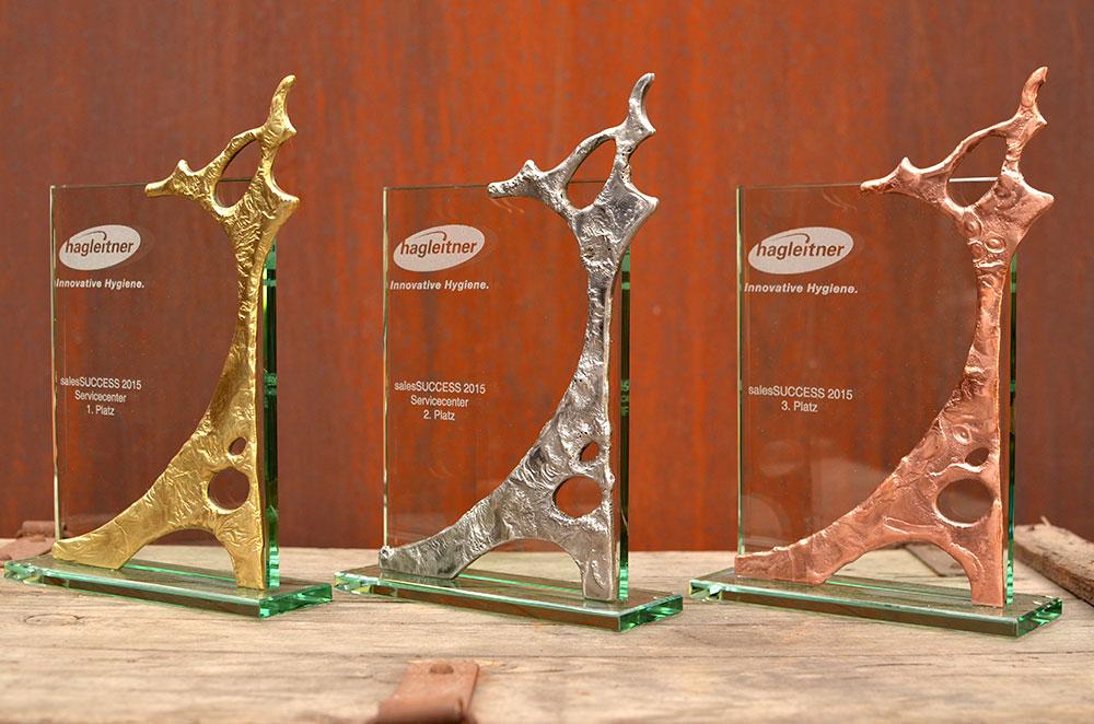 Gahr Modern Art Trophies Corporate Employee Sport