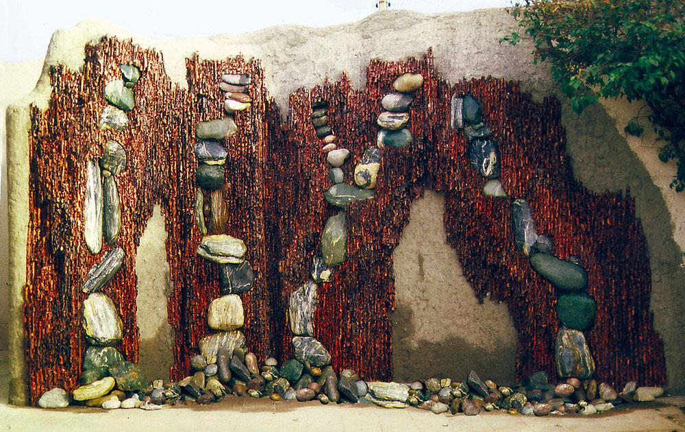 Metal Wall Planters: Outdoor Metal Wall Decor